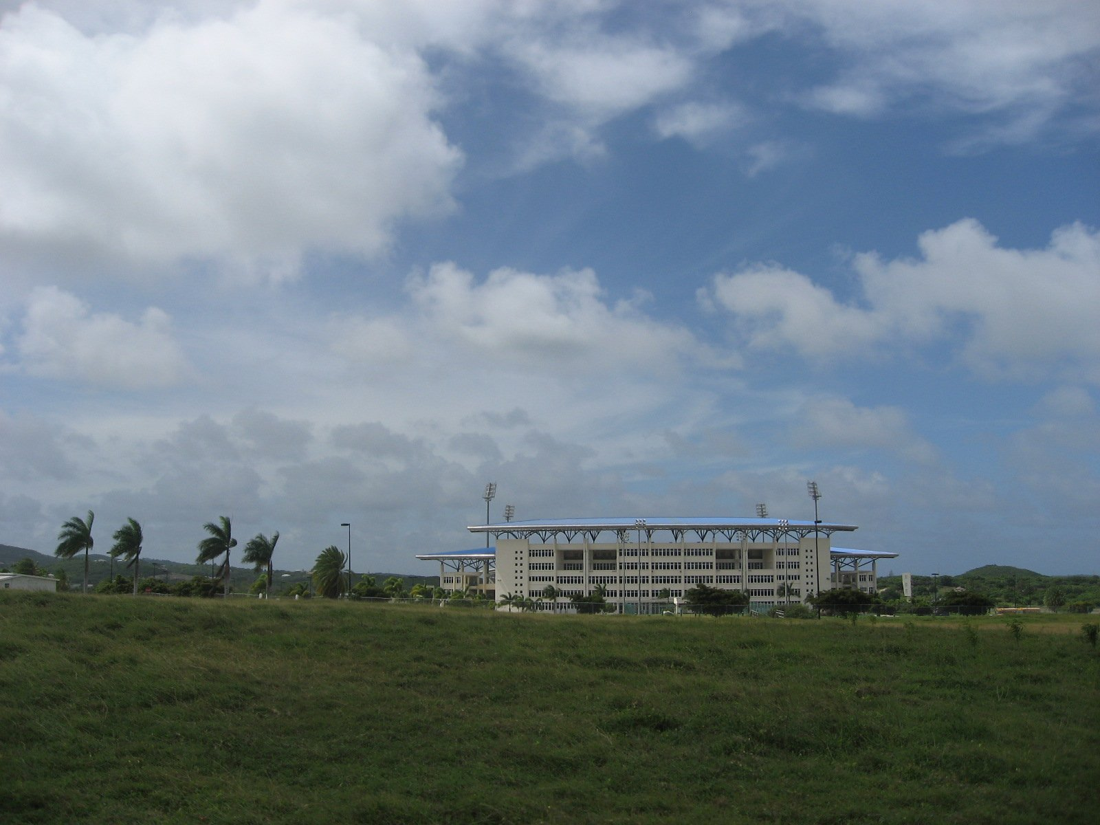Sir Vivian Richards Stadium, taken 2013