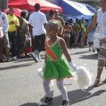 little girl antigua carnival