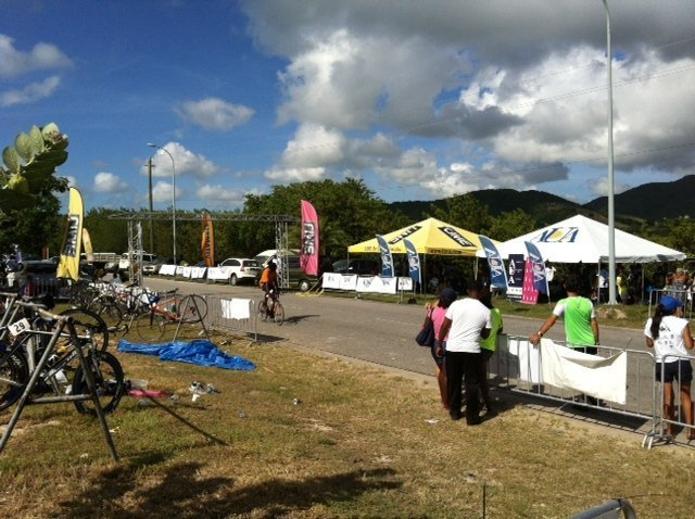 Antigua Triathlon Darkwood Beach