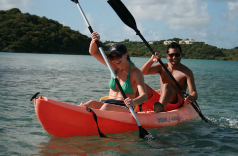 kayak-antigua-paddles-tour