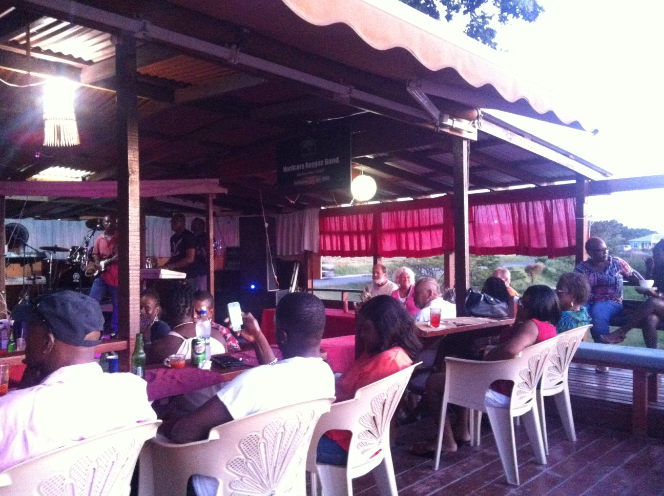 A place to be on a Sunday in Antigua (after church of course)
