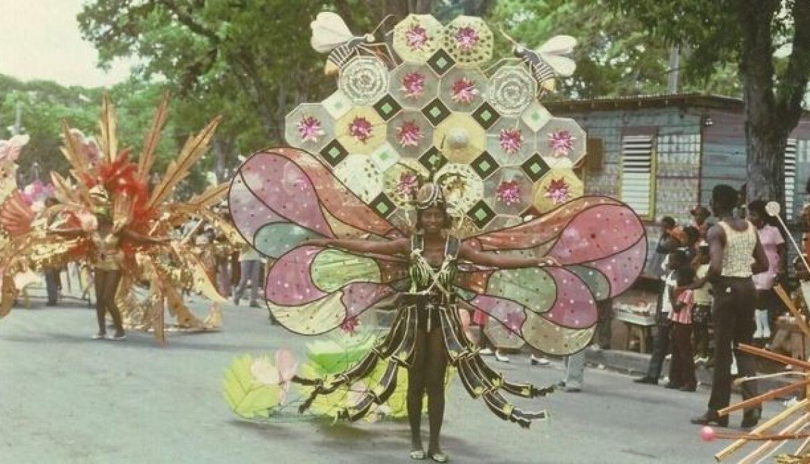 Antigua carnival costume 1975