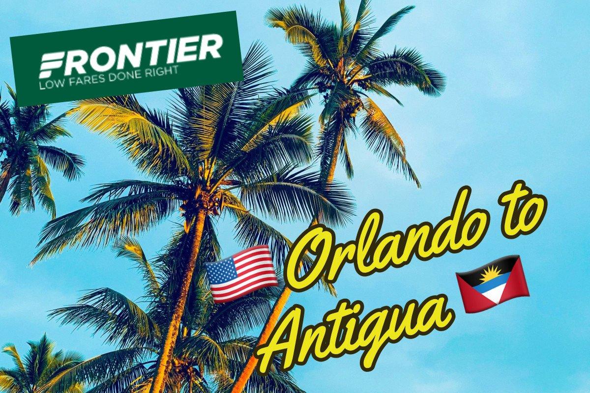 Frontier Flights To Antigua